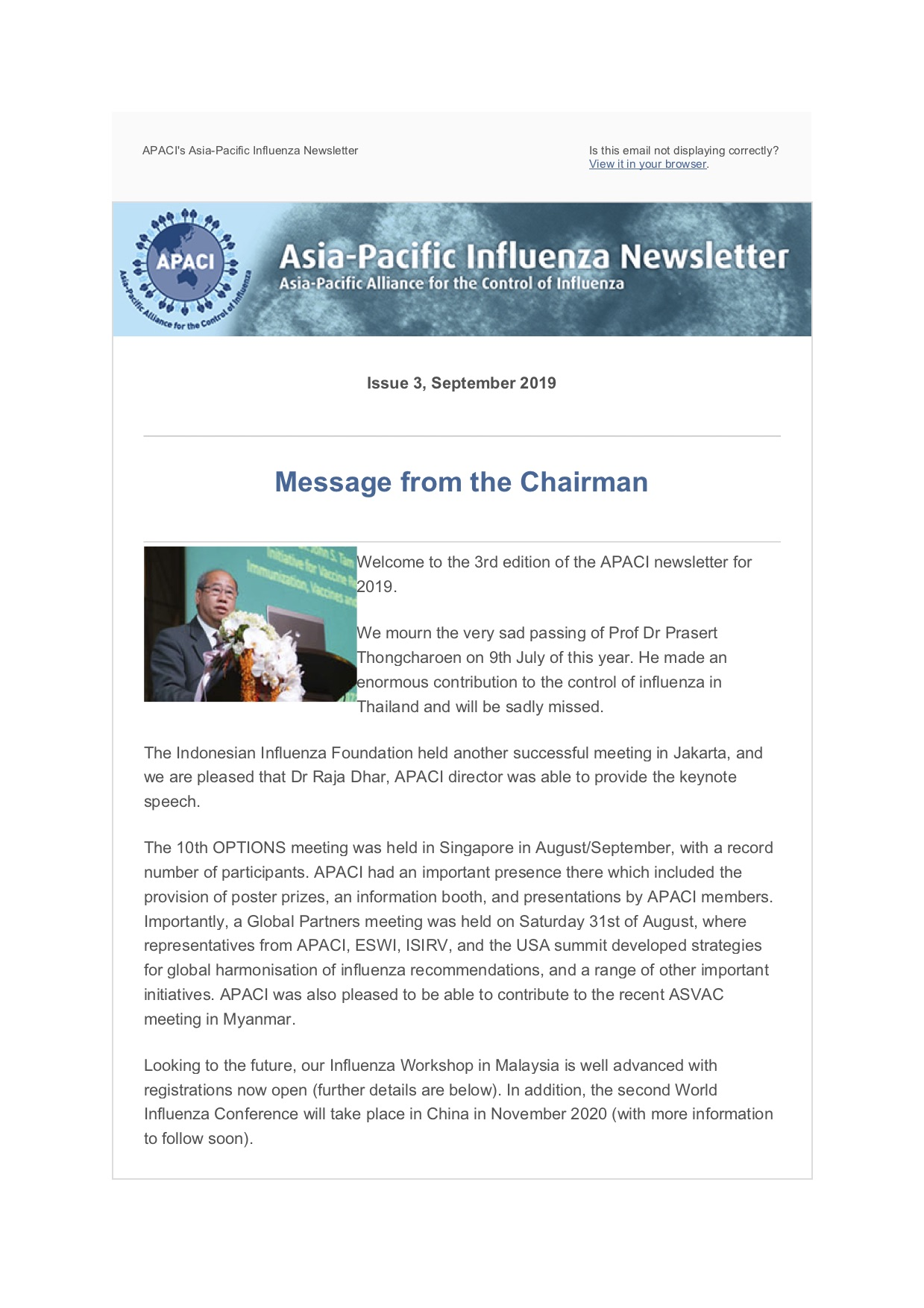 APACI Website Sep 2019 Newsletter